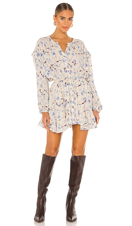 Flower Fields Mini Dress Free People $128 NEW