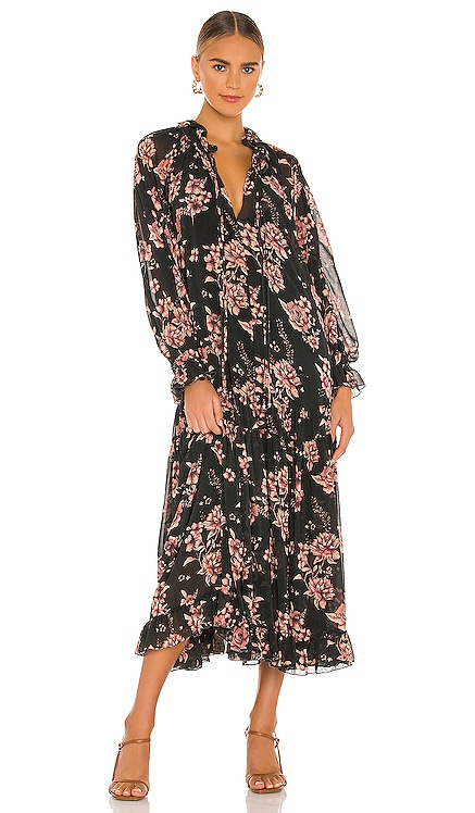 Feeling Groovy Maxi Dress Free People $168