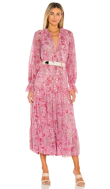 МАКСИ ПЛАТЬЕ FEELING GROOVY Free People $168 НОВИНКИ