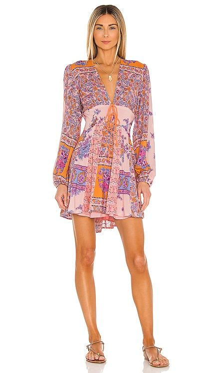 МИНИ ПЛАТЬЕ MIXIN IT UP Free People $128 НОВИНКИ