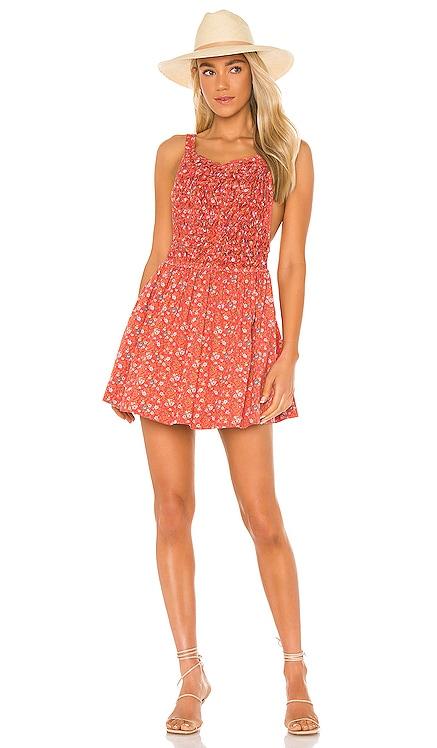 Petunia Mini Dress Free People $128 NEW
