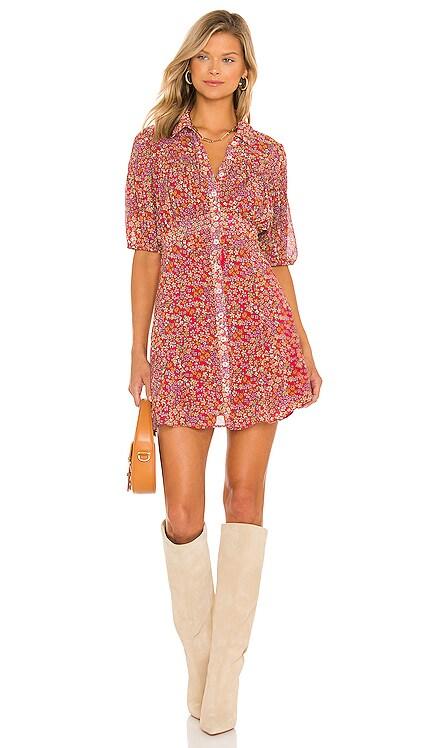 Bonnie Mini Dress Free People $128 NEW