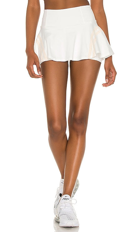 JUPE-SHORT PLEATS AND THANK YOU Free People $78 NOUVEAU