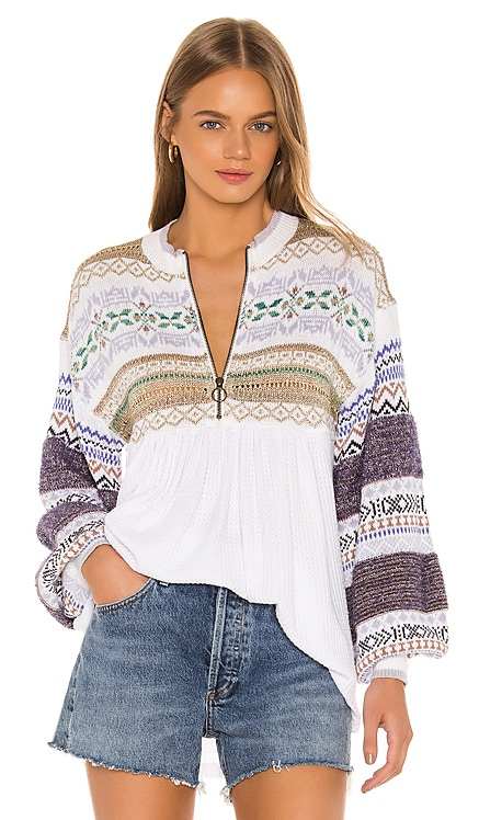 Cozy Cottage Sweater Free People $128 BEST SELLER