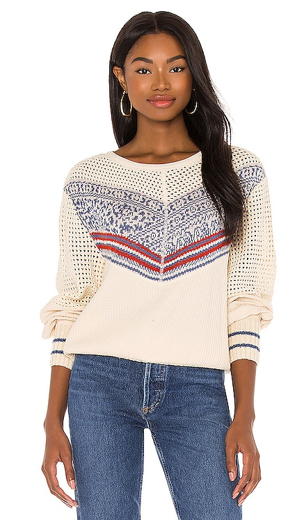 Geo Party Pullover Free People $128 NEW