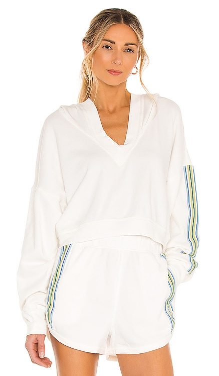 X FP Movement Grand Slam Sweat Striped Hoodie Free People $88 BEST SELLER
