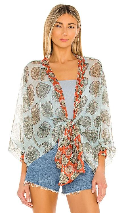 Kantha Shimmer Tie Kimono Free People $78 BEST SELLER