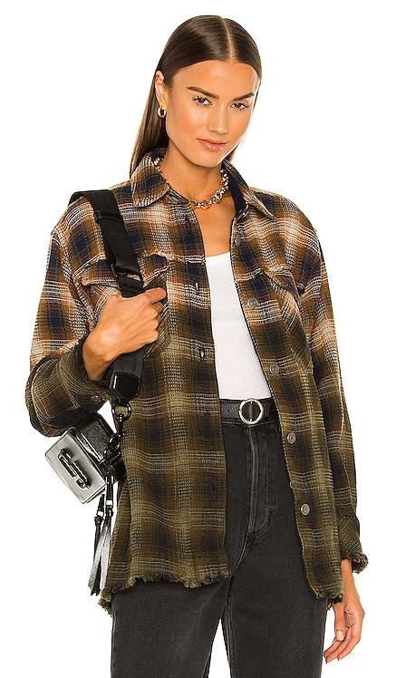 Anneli Plaid Shirt Jacket Free People $168