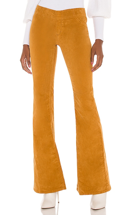 Pull On Cord Flare Pant Free People $78 NEW