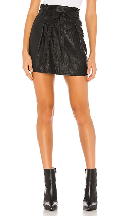 Payton Paperbag Mini Skirt Free People $49