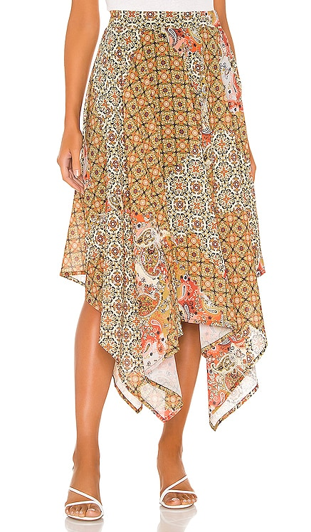 JUPE LONGUE STAY AWHILE Free People $108
