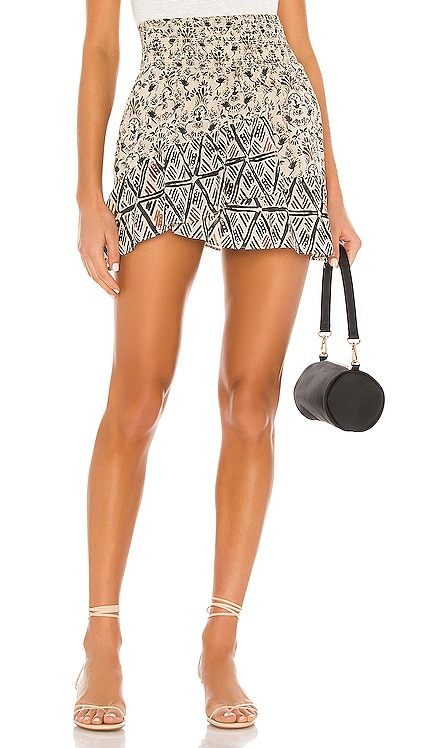 JUPE COURTE RIVIERA Free People $68