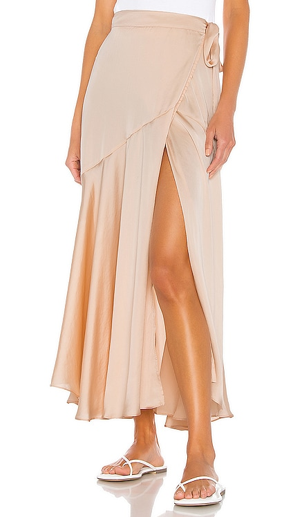 So Silky Wrap Half Slip Skirt Free People $60