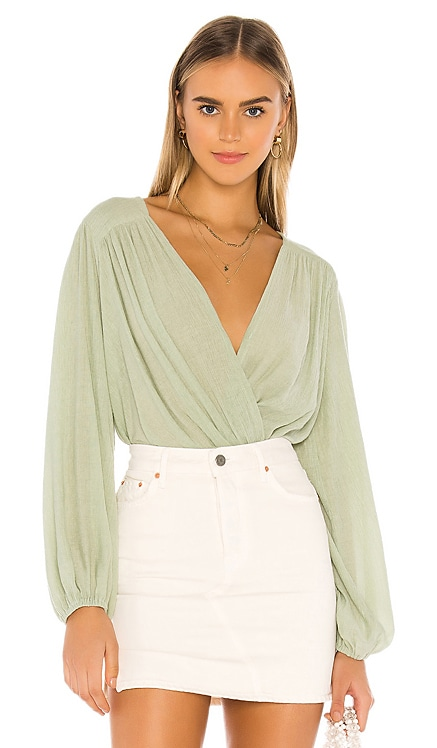 Check On It Wrap Top Free People $78