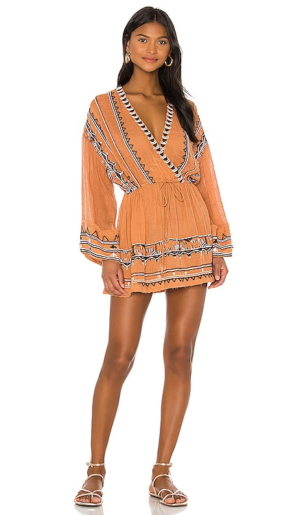 Saffron Embroidered Tunic Free People $168