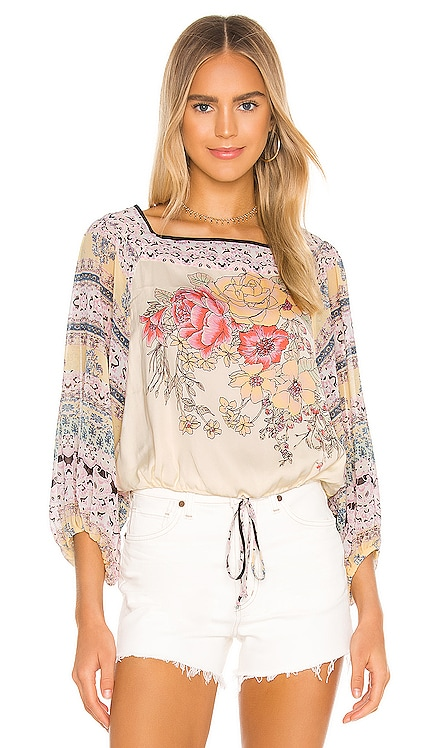 Blue Nile Printed Top Free People $108 BEST SELLER
