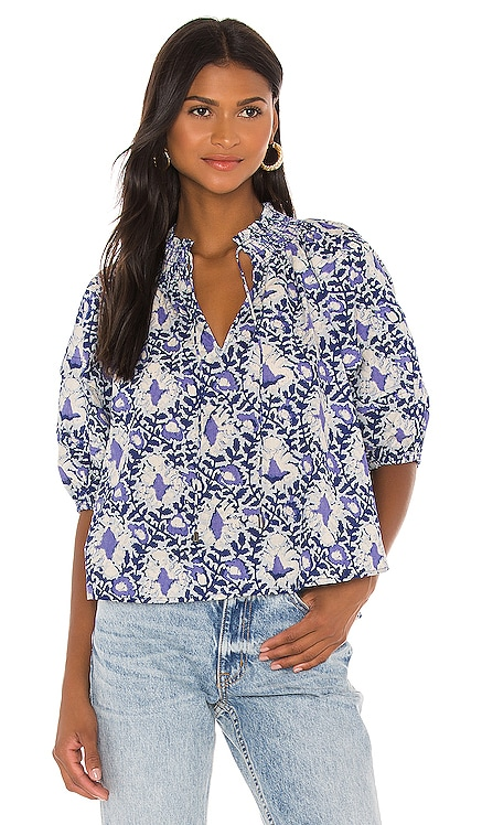 Willow Printed Blouse Free People $88 BEST SELLER