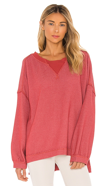 X FP Movement Rugby Match Long Sleeve Tee Free People $68