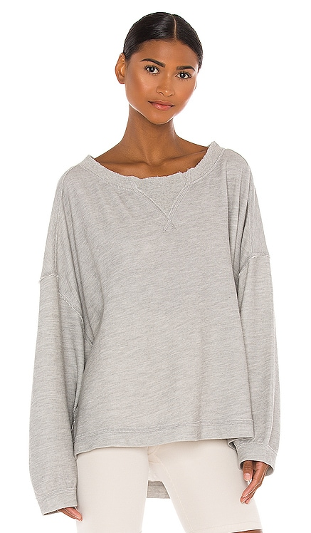 X FP Movement Rugby Match Long Sleeve Tee Free People $68 NEW