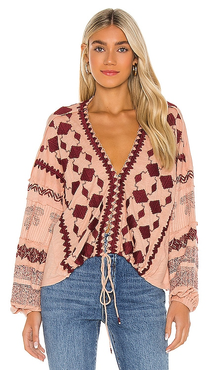 Home Town Top Free People $128 NEW