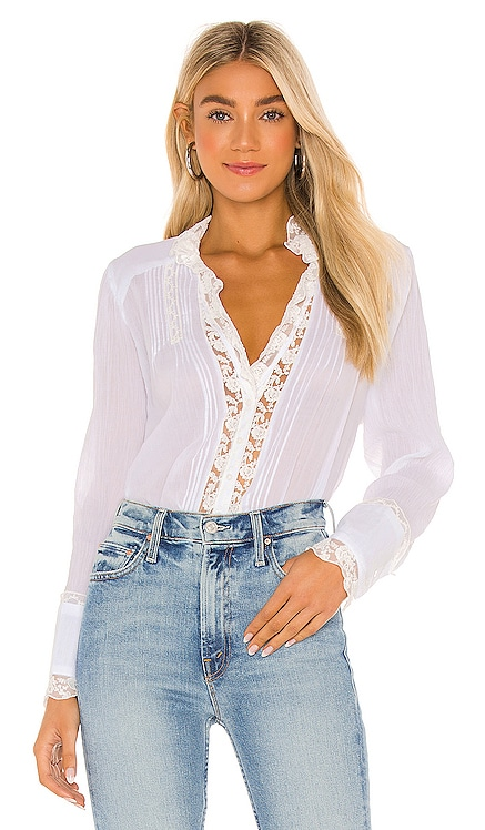 Clemence Button Down Free People $128