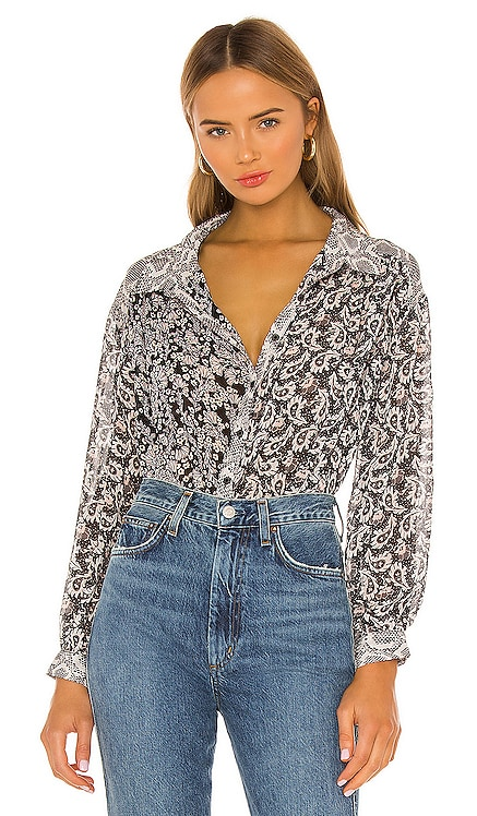 TOP BOUTONNÉ DANI Free People $108