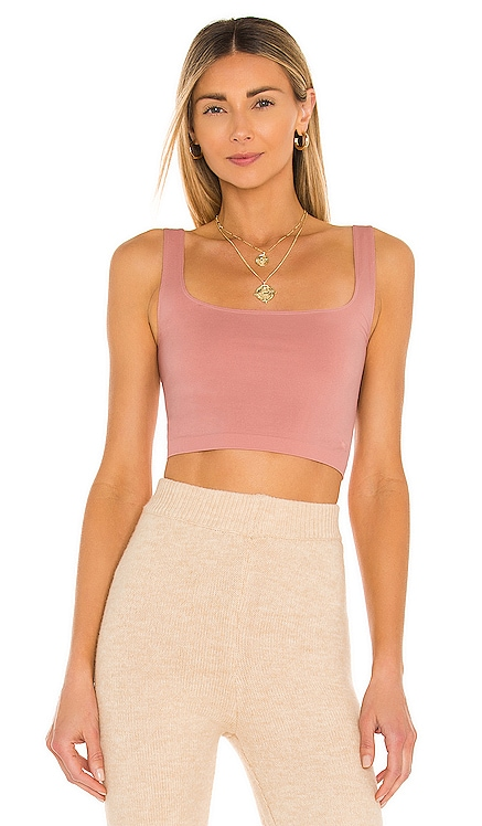 X REVOLVE Scoop Neck Crop Top Free People $20 NEW