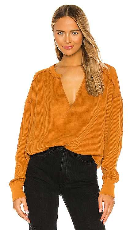 Owen Thermal Top Free People $78 NEW