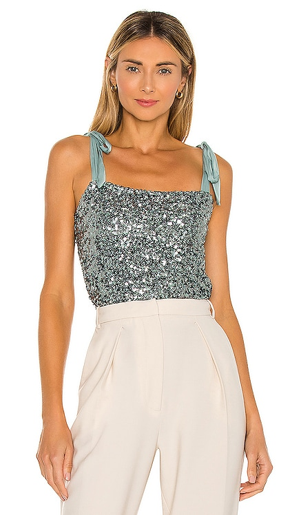Hey Girl Sequin Cami Free People $68 NEW