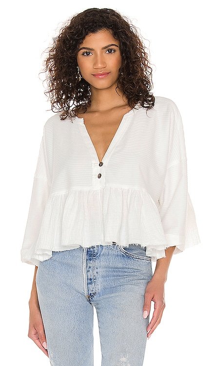 Dallas Henley Top Free People $68 NEW