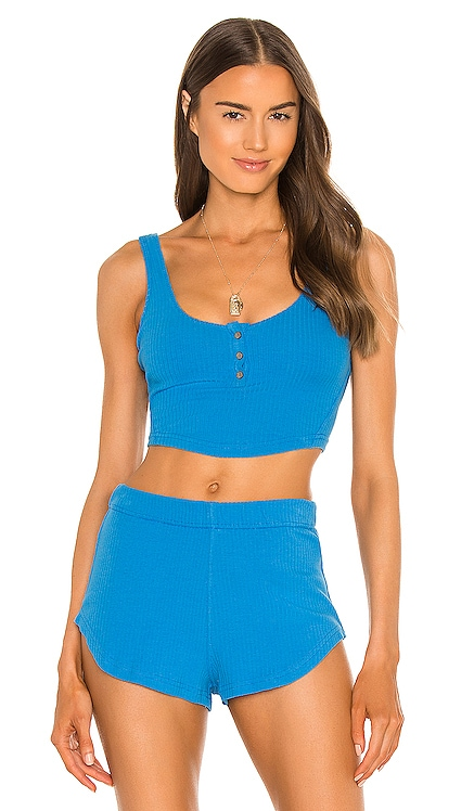 X FP Movement Luxe Rib Snap Tank Free People $48 NEW