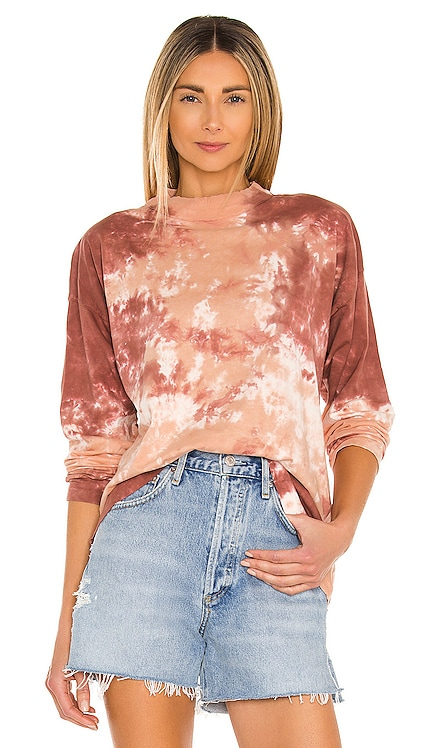 Be Free Tie Dye Tee Free People $58