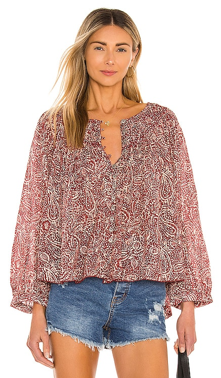 Cool Meadow Printed Top Free People $108