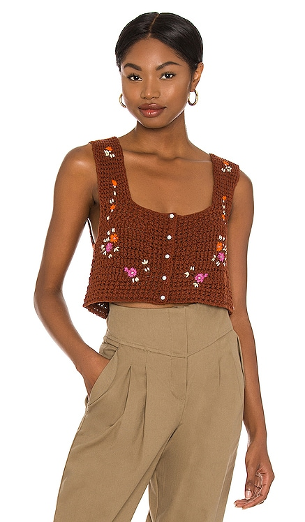Wildflowers Cardi Free People $98 NEW