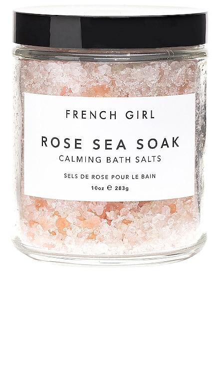 Rose Sea Soak Calming Bath Salts French Girl $22