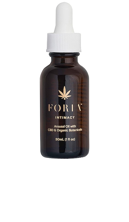 Awaken Natural Arousal Oil with CBD & Botanicals FORIA $48 BEST SELLER