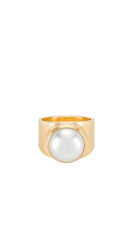 Pearl Dome Ring FAIRLEY $229