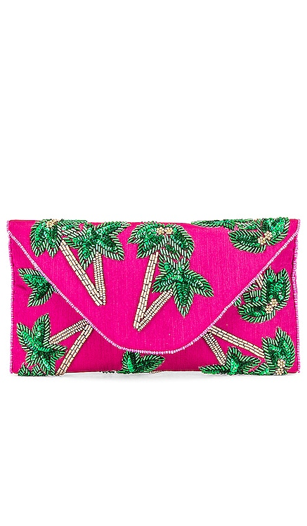 Tropical Envelope Clutch From St Xavier $105 NEW ARRIVAL