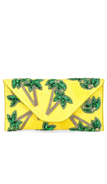 Tropical Envelope Clutch From St Xavier $74