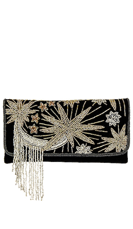 Night Sky Foldover Clutch From St Xavier $105