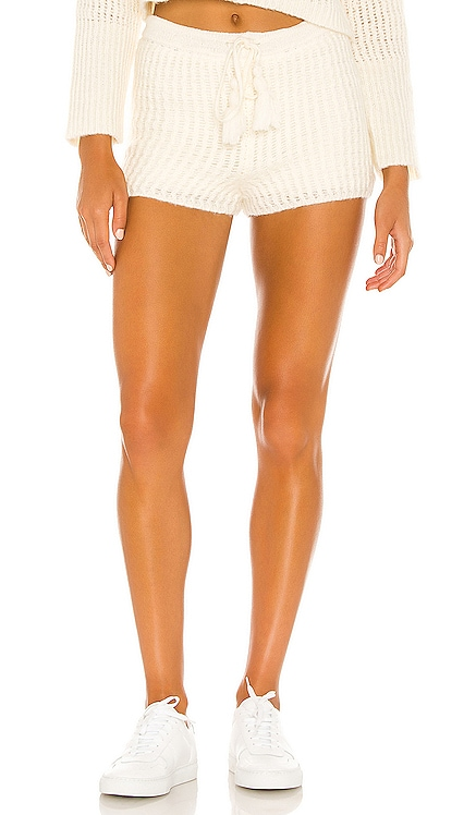 x REVOLVE Mohair Lounge Short Flook The Label $99 NEW
