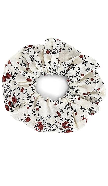 Printed Floral Scrunchie Ganni $25 NEW