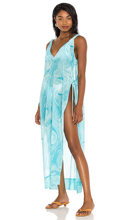 Printed Cover Up Ganni $99