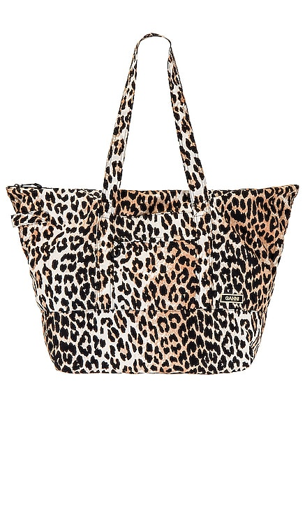 Packable Tote Ganni $155