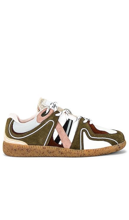 Sporty Mix Sneaker Ganni $345 NEW