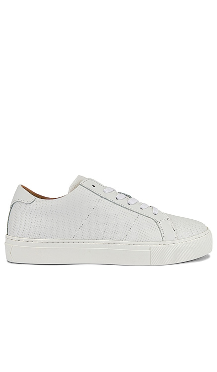 Royale Perf Smooth Leather Sneaker GREATS $179
