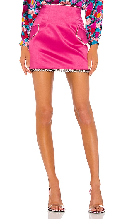 Silk Mini Skirt GIUSEPPE DI MORABITO $219