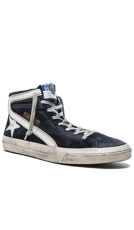 Suede Slide Sneakers Golden Goose $495