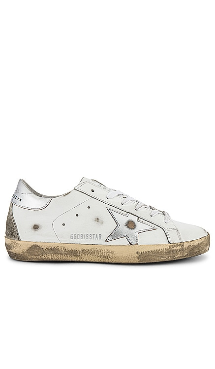 Superstar Laminated Sneaker Golden Goose $495 NEW