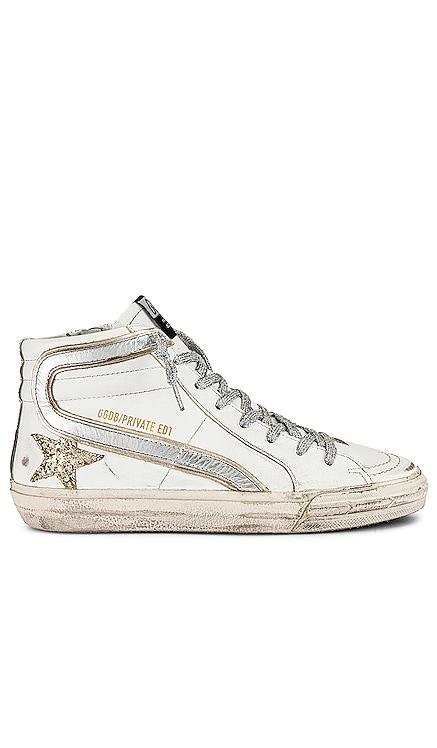 X REVOLVE Slide Sneaker Golden Goose $605